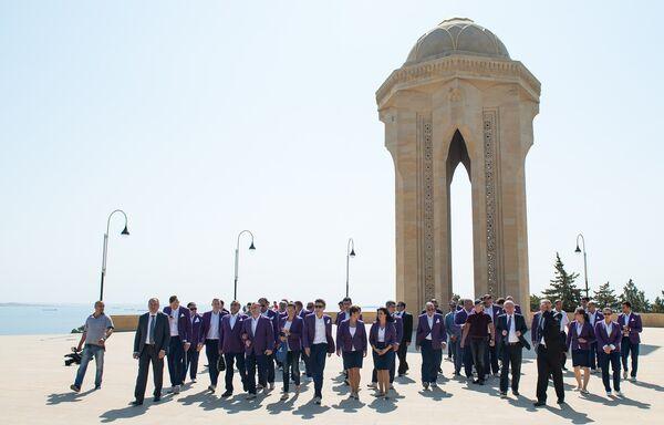 Встреча с азербайджанскими спортсменами-участниками летних Паралимпийских игр 2016 года - Sputnik Азербайджан