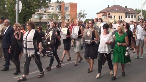 Марш живых в память о Холокосте прошел в Литве - Sputnik Азербайджан
