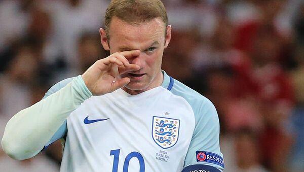 Игрок сборной Англии Уэйн Руни. Архивное фото - Sputnik Азербайджан