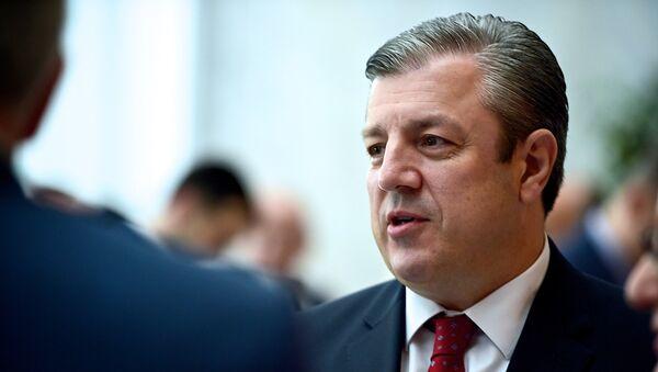 Георгий Квирикашвили, фото из архива - Sputnik Азербайджан