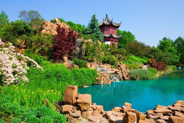 Монреальский ботанический сад – крупный ботанический сад в городе Монреале (провинция Квебек, Канада). Был основан в 1931 году - Sputnik Азербайджан