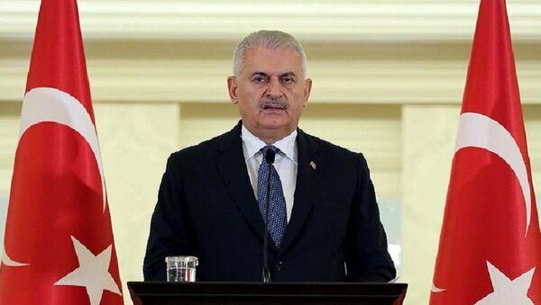 Türkiyənin baş nazir Binəli Yıldırım - Sputnik Azərbaycan