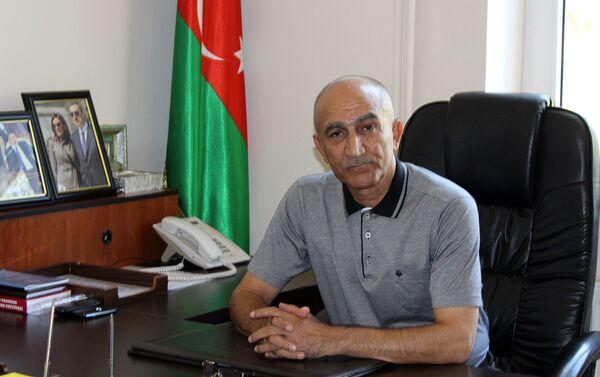 Командир батальона полковник Рафик Гусейнов - Sputnik Азербайджан