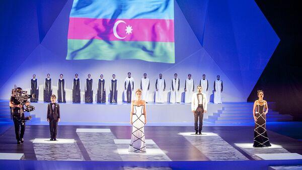 Открытие 42-й Всемирной Шахматной Олимпиады в Баку. - Sputnik Азербайджан