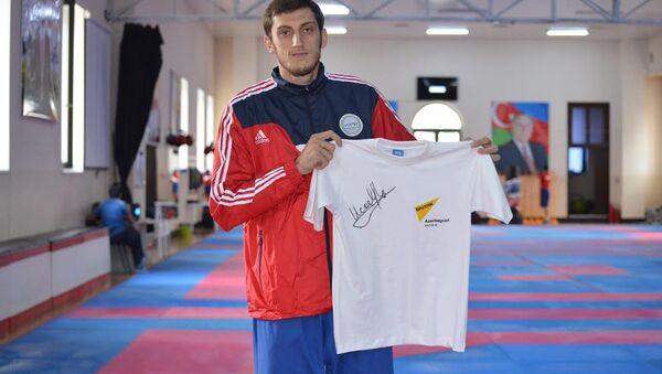Олимпийский чемпион Рио-2016, тхэквондист Радик Исаев - Sputnik Азербайджан