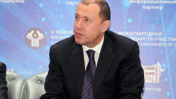 Бывшый председатель правления ОАО Международный банк Азербайджана (МБА) Джахангир Гаджиев - Sputnik Азербайджан