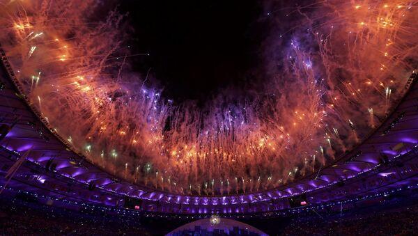Церемония открытия XXXI летних Олимпийских игр в Рио-де-Жанейро - Sputnik Азербайджан