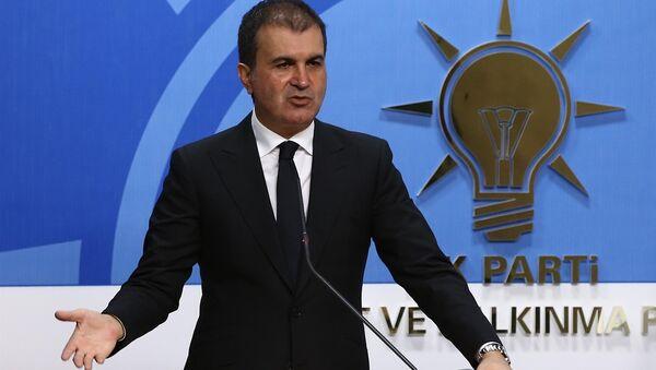 Министр по делам ЕС Омер Челик - Sputnik Азербайджан