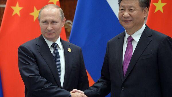 Визит президента РФ В. Путина в Китай. День второй - Sputnik Азербайджан