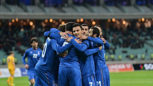 Игроки сборной Азербайджана по футболу - Sputnik Азербайджан
