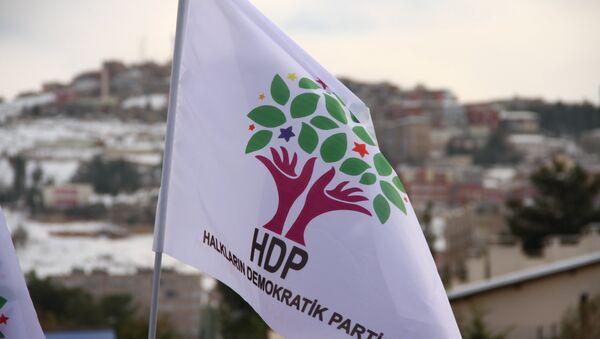 HDP partiyasının bayrağı - Sputnik Azərbaycan