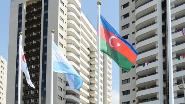 В Паралимпийской деревне в Рио подняли флаг Азербайджана - Sputnik Azərbaycan