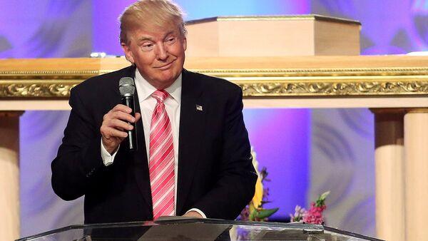 Республиканский кандидат в президенты США Дональд Трамп - Sputnik Азербайджан