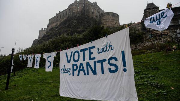 Референдум о независимости Шотландии - Sputnik Азербайджан