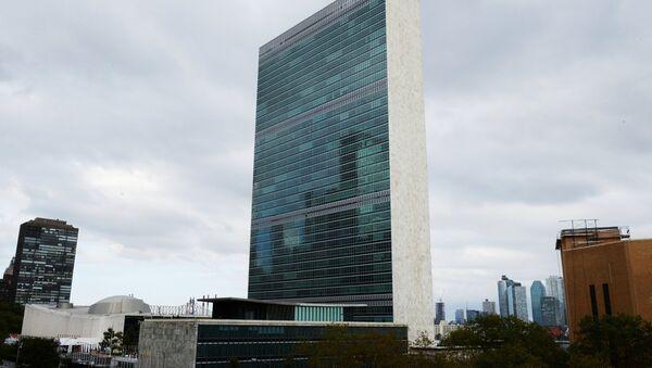 Штаб-квартира Организации объединенных наций в Нью-Йорке - Sputnik Азербайджан