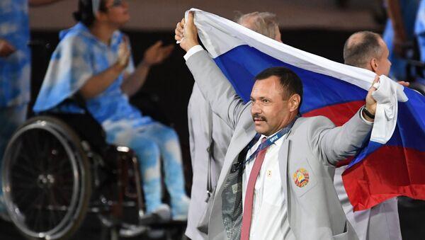 Церемония открытия XV летних Паралимпийских игр 2016 в Рио-де-Жанейро - Sputnik Азербайджан