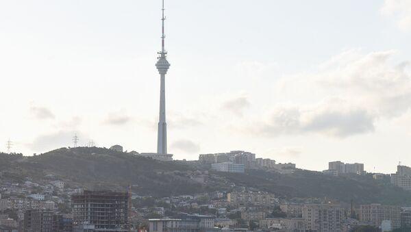 Вид на телебашню - Sputnik Azərbaycan
