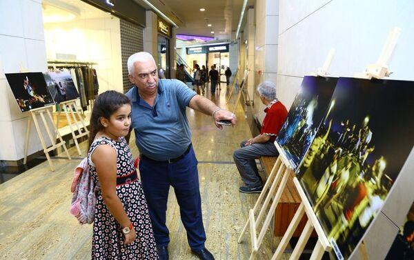 Выставка посвященная организованной террористической организацией FETÖ попытке военного переворота - Sputnik Азербайджан