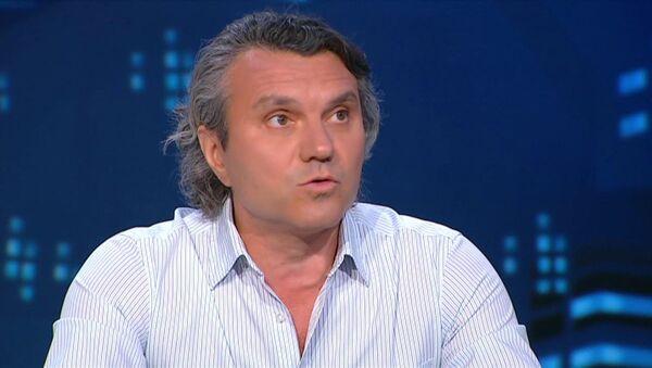 Украинский политолог Валерий Дымов - Sputnik Азербайджан