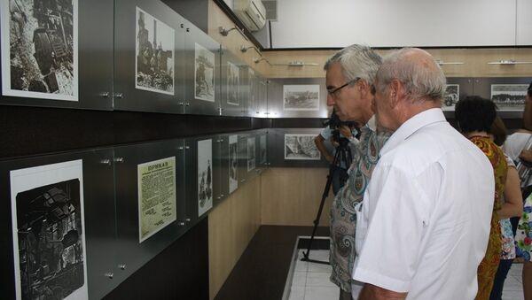 В Баку открылась выставка, посвященная блокадному Ленинграду - Sputnik Азербайджан