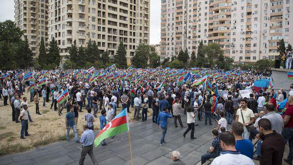 Митинг оппозиции в Баку - Sputnik Азербайджан