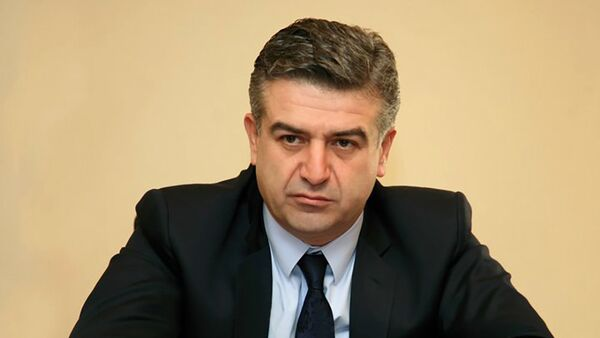Карен Карапетян - Sputnik Азербайджан