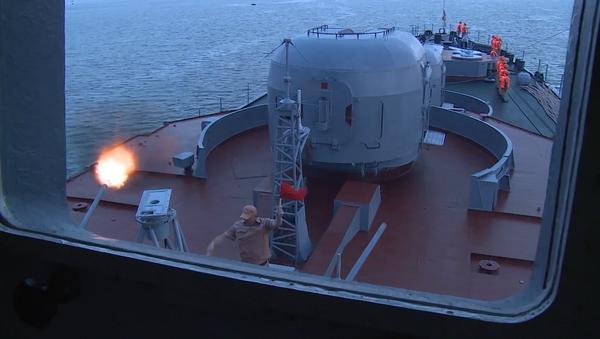 РФ и Китай начали совместные учения «Морское взаимодействие-2016» - Sputnik Азербайджан