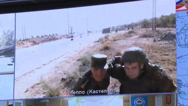 Военных РФ в Сирии обстреляли во время видеомоста с Москвой. Кадры инцидента - Sputnik Азербайджан