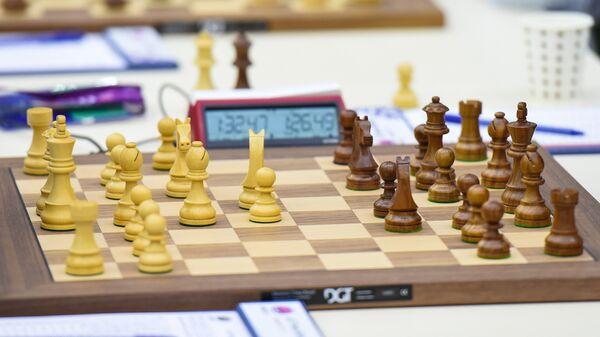 Шахматная доска - Sputnik Азербайджан