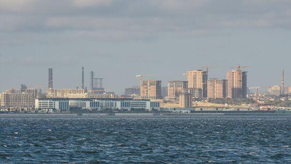 Активно ведется застройка Баку, фото из архива - Sputnik Азербайджан