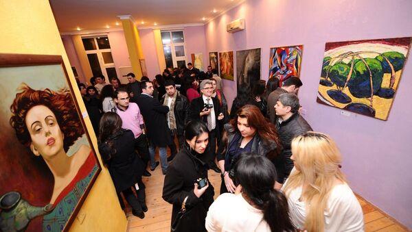 Выставка в Art Gallery. Архивное фото - Sputnik Азербайджан