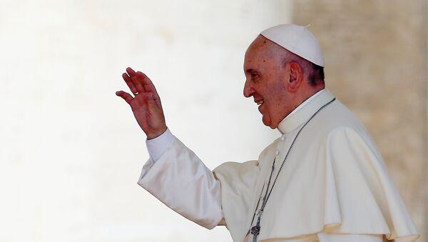 Папа Римский Франциск. Архивное фото - Sputnik Azərbaycan