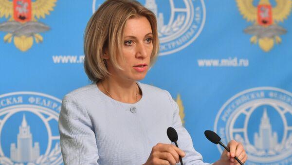 Брифинг официального представителя МИД РФ М. Захаровой - Sputnik Азербайджан