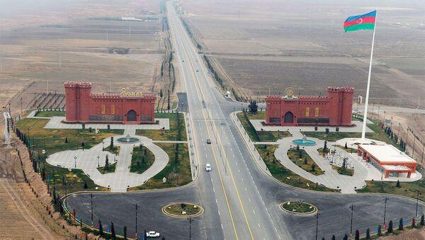 Площадь флага в Гяндже - Sputnik Азербайджан