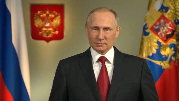 Голосуйте за Россию! – обращение Путина к гражданам РФ перед выборами - Sputnik Азербайджан