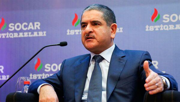 Натиг Амиров, первый заместитель министра налогов АР - Sputnik Азербайджан