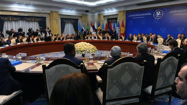 Заседание Совета глав государств – участников СНГ, фото из архива - Sputnik Азербайджан