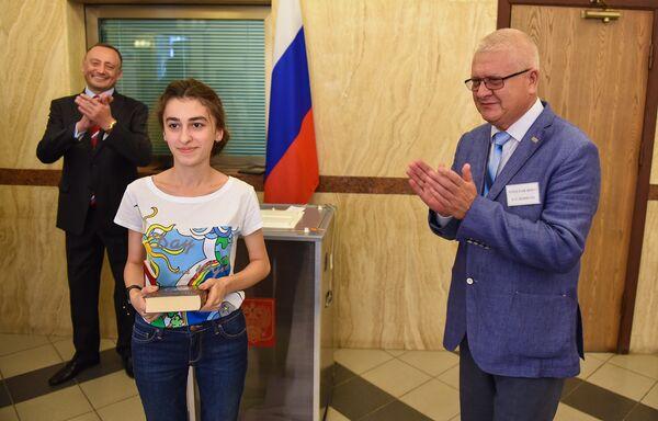Выборы в Государственную Думу Российской Федерации в посольстве России в Азербайджане - Sputnik Азербайджан