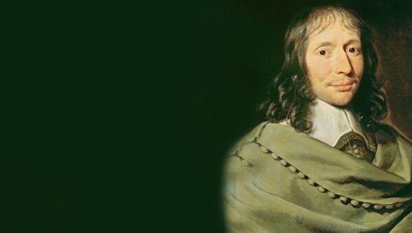 Блез Паскаль — французский математик, механик, физик, литератор и философ - Sputnik Азербайджан