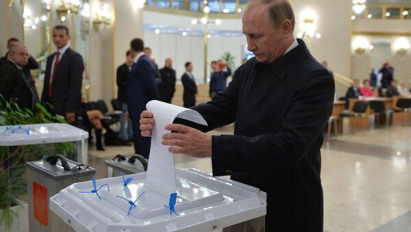 Rusiya prezidenti Vladimir Putin - Sputnik Azərbaycan