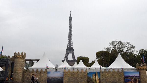 В Париже прошла церемония официального открытия Азербайджанского городка - Sputnik Азербайджан