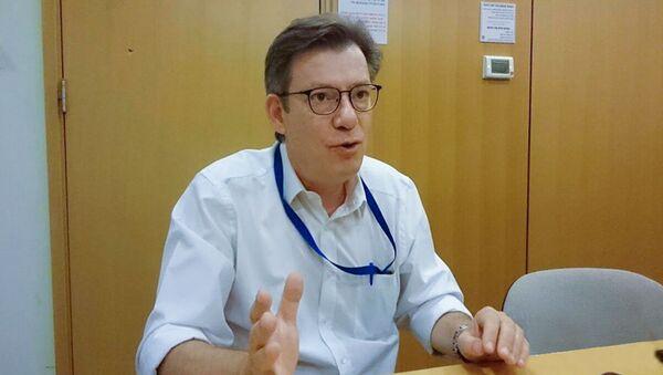 Пресс-секретарь МИД Израиля Эммануэль Нахшон - Sputnik Азербайджан