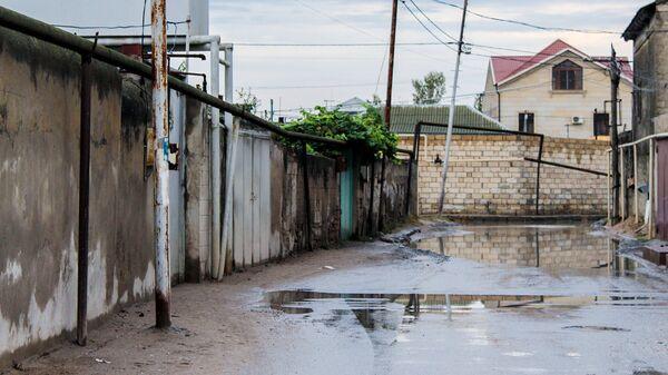Zabratın su altında qalmış küçələri - Sputnik Azərbaycan