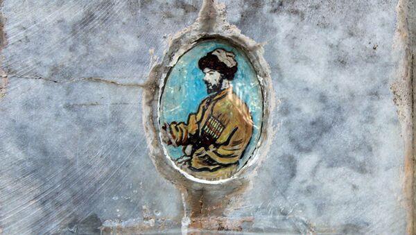 Изображение Хаджи-Мурата на надгробии - Sputnik Азербайджан