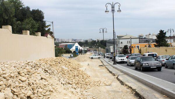 Ремонт дорог в Баку, архивное фото - Sputnik Азербайджан