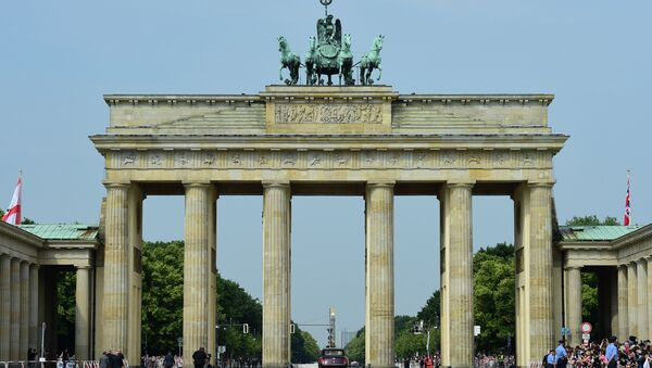Berlin's landmark Brandenburg Gate - Sputnik Azərbaycan
