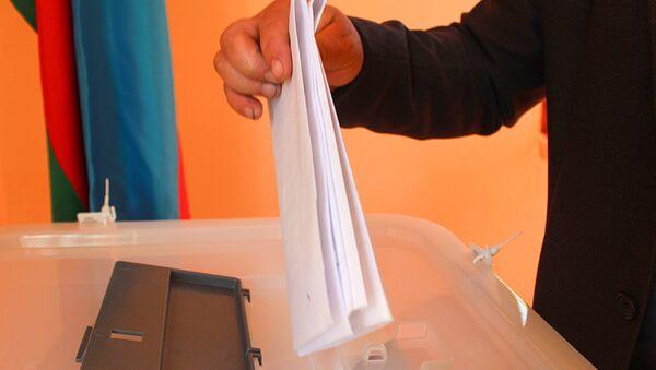 112 saylı şəhər seçki dairəsi üzrə referendum - Sputnik Azərbaycan