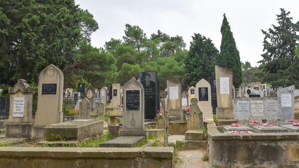 Кладбище в Баку - Sputnik Азербайджан