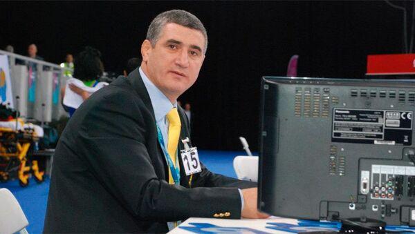 Судья международной категории Хиджран Шарифов - Sputnik Азербайджан