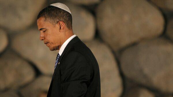 Birləşmiş Ştatlar prezidenti Barak Obama - Sputnik Azərbaycan